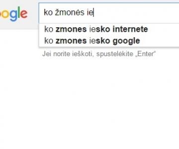 """""""Kodėl mano katino akys žalios?"""" arba ko lietuviai dažniausiai klausia """"Google""""?"""